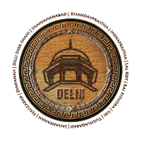 Monuments of Delhi Logo